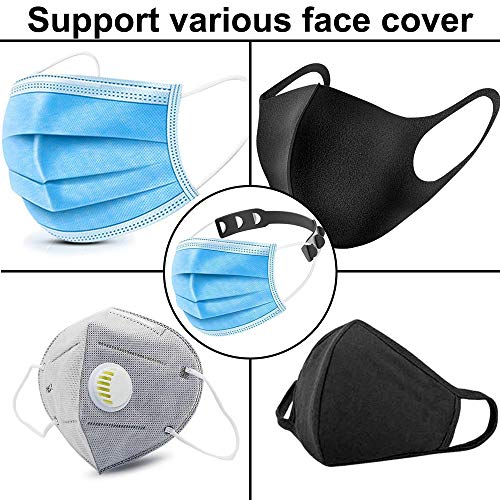 Motiloo 12PCS Mask Extender, Anti-Tightening Ear Protector Decompression Holder Hook Ear Strap Accessories Ear Grips Extension Mask Buckle Ear Pain Relieved