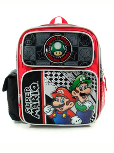 Small Backpack Nintendo Super Players