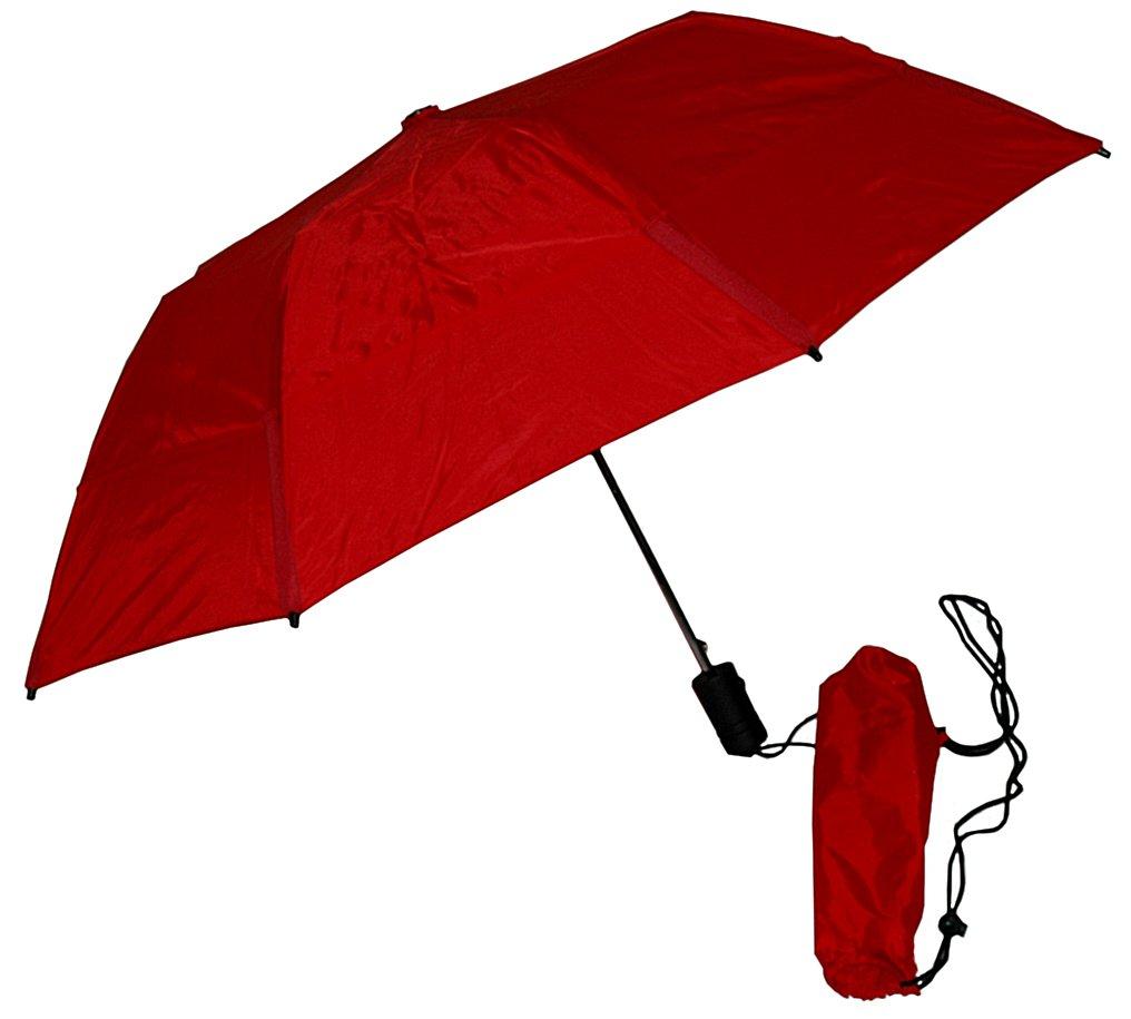 GustBuster Metro 43-Inch Automatic Umbrella (Red)