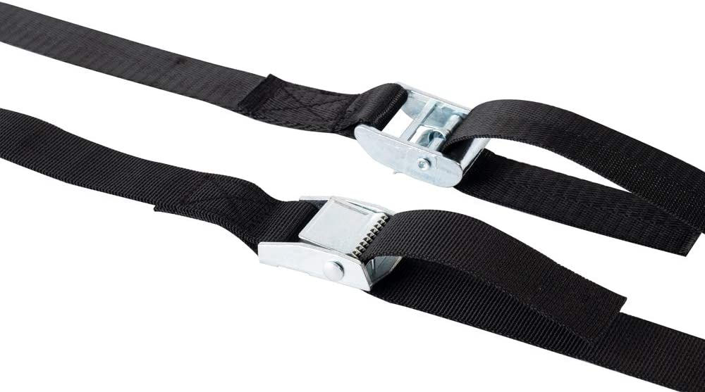3 PCS 1x9.8ft Cargo Tie Down Straps Heavy Duty Lashing Straps Travel Luggage Strap with Cam Lock Buckle