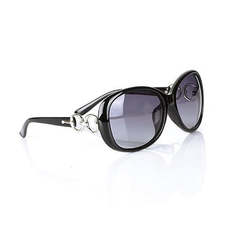 Kry Casual Sport Lunettes de soleil polarisées pour conduite d'extérieur femmes mode Lunettes de soleil oversize UV400Étui à lunettes Bleu 2 3YpjlgIPD