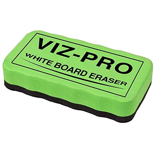 viz pro magnetic white board eraser 3 colored eraser 3 piece. Black Bedroom Furniture Sets. Home Design Ideas