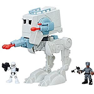 Galactic Heroes Star Wars First Order at-ST with Action Figures - 51pFlghDrdL - Disney's Star Wars Playskool Galactic Heroes Exclusive Adventure Play Set – Imperial First Order AT-ST and 2 Action Figures Included – Hasbro Toy – for Kids Ages 3-7