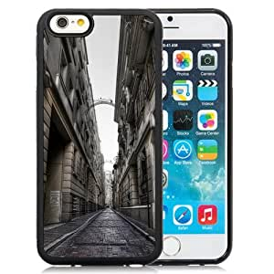 NEW Unique Custom Designed iPhone 6 4.7 Inch TPU Phone Case With Street Architecture_Black Phone Case wangjiang maoyi