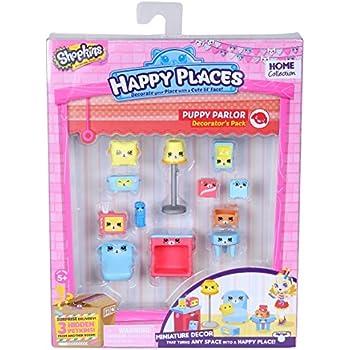 Happy Places Shopkins Decorator Pack Puppy Parlour