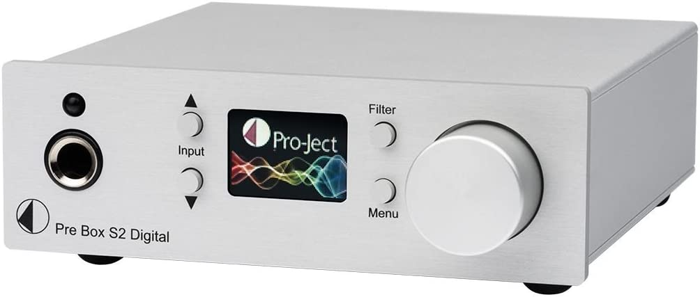 color plateado Pro-ject Preamplificador MM//MC puerto USB