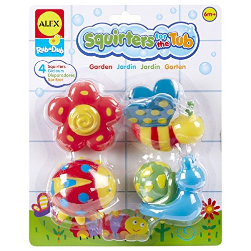 Alex Toys Squirters (ALEX Toys Rub a Dub Squirters for the Tub - Garden)