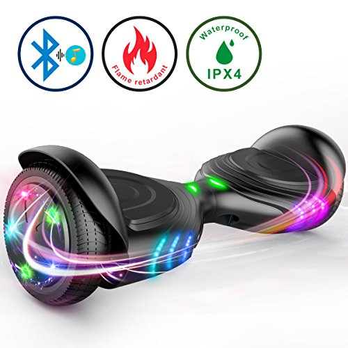 TOMOLOO Hoverboard and Smart Scooter Two-Wheel Self Balancing Electric Scooter...