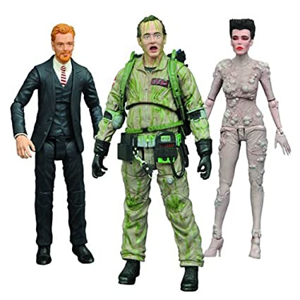 Amazoncom Ghostbusters Select Series 4 Action Figure Set Toys Games