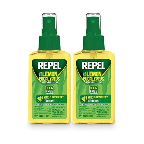 Repel Lemon Eucalyptus Natural Insect Repellent, 4oz. Pump, 2-PK