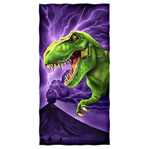 Dawhud Direct T-Rex Cotton Beach Towel