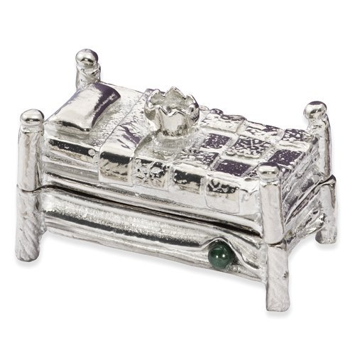 (Pewter Princess & the Pea Tooth Fairy/Trinket Box)