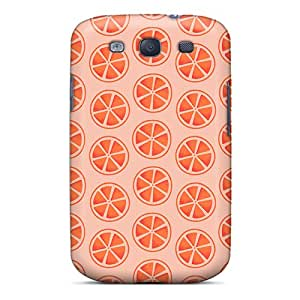 Anti-scratch And Shatterproof Naranjas Phone Cases For Galaxy S3/ High Quality Tpu Cases