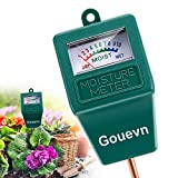 Soil Moisture Meter, Plant Moisture Meter Indoor & Outdoor, Hygrometer Moisture Sensor Soil Test Kit Plant Water Meter for Garden, Farm, Lawn (No Battery Needed)