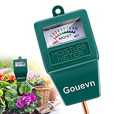 Soil Moisture Meter, Plant Moisture Meter Indoor & Outdoor, Hygrometer Moisture Sensor Soil Test Kit Plant Water Meter for Garden, Farm, Lawn (No Battery Needed)