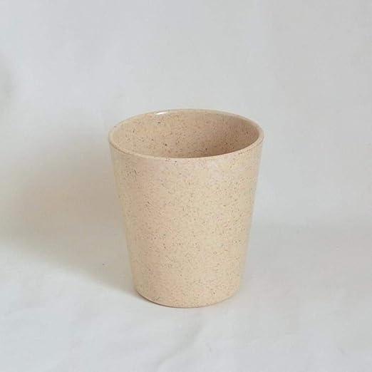 COPP Tazas de Leche de bambú de 300 ml Personalizadas con Tapas de ...