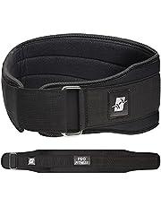 ProFitness Weight Lifting Belt (4 Inch Wide) - Locking Weight Belt for Performance Lifting - Weightlifting Adjustable Lifting Belts for Men & Women with Comfortable Neoprene - Gym Belt, Workout Belt