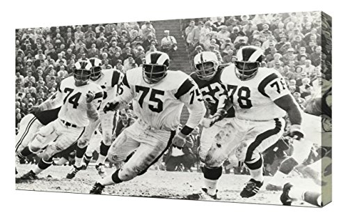 Lilarama USA NFL Deacon Jones 3 - Canvas Art Print - Wall Art - Canvas Wrap ()