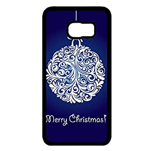 Happy New Year Phone Case Merry Christmas Samsung Galaxy S6 Edge Plus Phone Case Fashionable Black Phone Case Merry Christmas Phone Case 298
