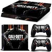 Call Of Duty Black Ops Vinyl Skin Sticker Decal For Playstation 4 Nd 2 Controllers [tn-ps4-1676]