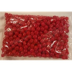 Sweet's Red Cherry Fruit Sours - Chewy Candy Ball 5lb Bag (Bulk)