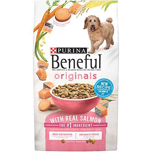 Purina Beneful Originals With Real Salmon Dry Dog Food - 15.5 lb. Bag