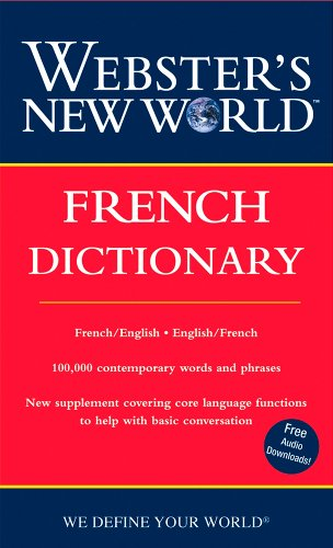 Webster's New World French Dictionary (2nd Ed)