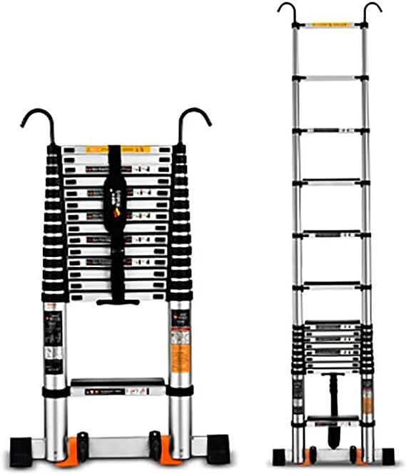 Telescópico Plegables Escalera,aluminio Aleación Escalera Extensión Escalera Multi-propósito Escaleras De Mano Portátil Con Gancho Anti-slip Escalera-a2 5.9m: Amazon.es: Bricolaje y herramientas