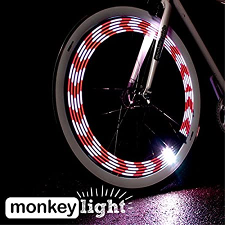 M Monkey Light Luces para la bicicleta Bike Wheel Light