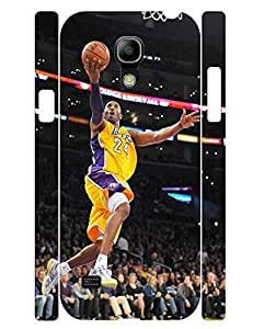 Colorful Collection Mobile Phone Case Athletic People Basketball Athlete Designed Tough Case Cover for Samsung Galaxy S4 Mini I9195 (XBQ-0088T)
