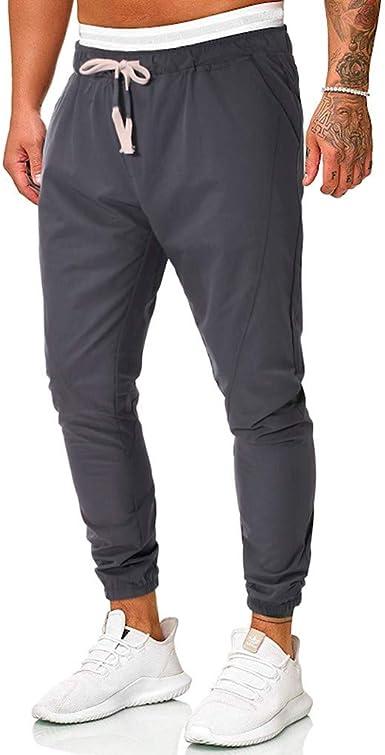 Memefood Pantalones Para Hombre Pantalones De Chandal Gruesos Con Puno Modelo Jogging Hombre Caballero Jogging Para Hombre Pants Pantalones Deportivos Hombres Joggers Largos Amazon Es Ropa Y Accesorios