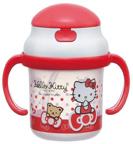 Hello Kitty Straw Hopper Hands Mug (Ribbon and Bear)]()
