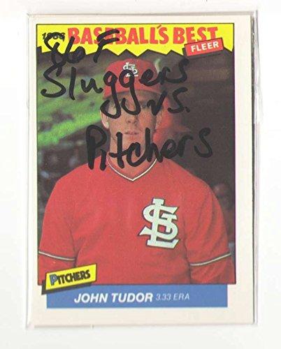 (1986 Fleer Sluggers vs Pitchers ST LOUIS CARDINALS Team Set)