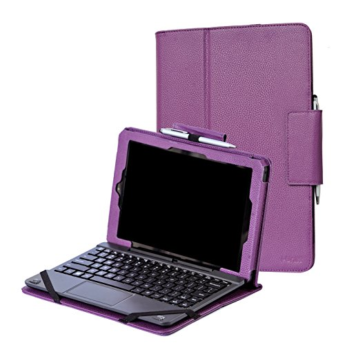 RCA 10 Viking Pro 10.1 case, i-UniK CASE for RCA 10 Viking Pro 10.1 & RCA 10 Viking II Tablet PC [Bonus Stylus] - (Purple) (Tablet Pc Purple)