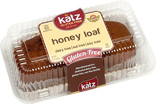 Katz Gluten Free Honey Loaf, 16 Ounce, Certified Gluten Free - Kosher - Dairy, Soy, & Nut free - (Pack of 1) - Costumes Direct Australia
