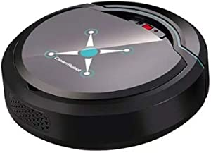 Shentesel Automatic Smart Robot Vacuum Cleaner Home Rechargeable Suction Dust Sweeper - Black