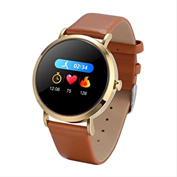 SGWEG Smart Watch Fitness Tracker smartwatch Round Screen ...