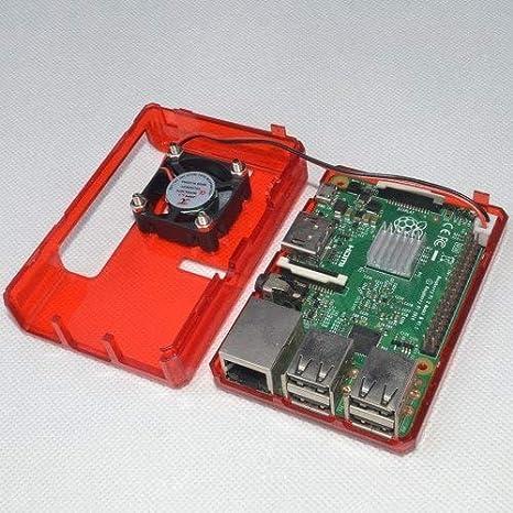 HaiMa Funda De Carcasa Abs Para Raspberry Pi 2B / 3B / 3B+ ...