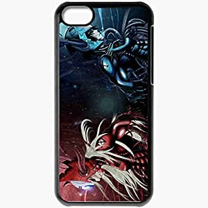 Personalized iPhone 5C Cell phone Case/Cover Skin Anime Warriors Black by icecream design