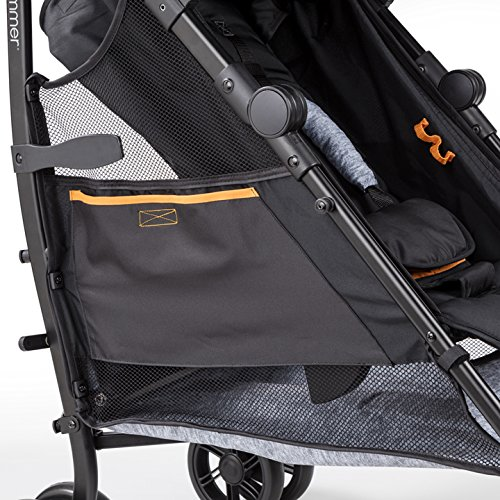 Summer Infant 3Dtote Convenience Stroller, Orange & Heather Gray by Summer Infant (Image #6)