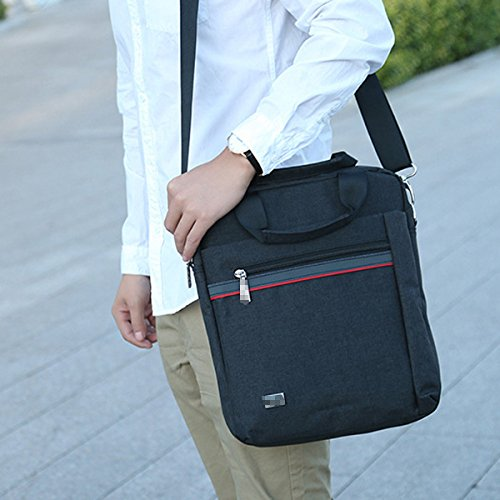 Convenient Durable Practical Shoulder Fashion Satchel For Black Cloth Bag Oxford Multicolor Inclined Men Classic tSqHfH1B