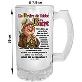 Chope Humoristique de l'abbé Bière
