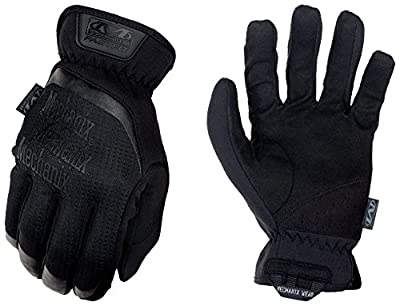 Mechanix Wear - FastFit Covert Tactical Touch Screen Gloves (Large, Black)