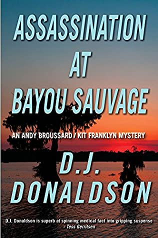 book cover of Assassination at Bayou Sauvage