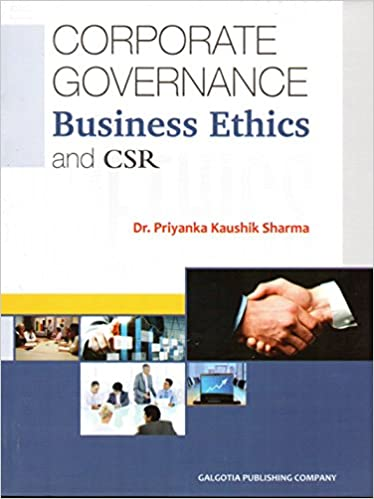 CORPORATE GOVERNANCE, BUSINESS ETHICS AND CSR: Amazon in: Dr