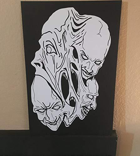 BYRON HOYLE Halloween Faces Craft Ideas Halloween Wall