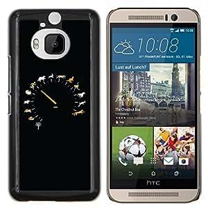 YiPhone /// Prima de resorte delgada de la cubierta del caso de Shell Armor - Animal velocidad Velocímetro - HTC One M9Plus M9+ M9 Plus