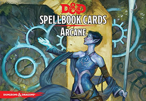 D&D Next: Arcane Spell Deck 73904 by Dungeons and Dragons