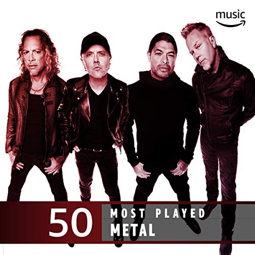 - The Top 50 Most Played: Metal