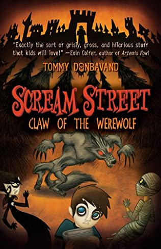 book cover of Claw of the Werewolf